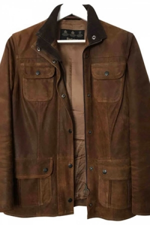 barbour ante marron