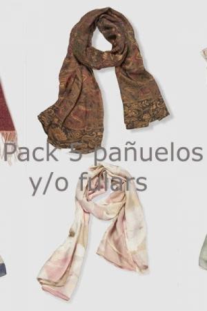 Pack Ahorro pañuelo y/o fular